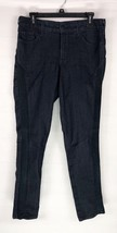 NYDJ Legging Jeans Womens Size 10 Lift Tuck Black Side Trim Stretch Denim - $13.99