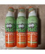 SET OF 3-Boogie Mist Natural Saline Mist Fresh Scent 3.1oz ea EXP: 11/2020 - $14.99