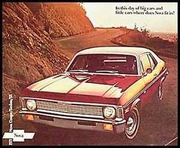 1971 Chevy Nova Brochure- SS! - $6.93