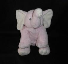 Ty 2006 Pluffies Winks Pink & Yellow Baby Elephant Stuffed Animal Plush Toy Soft - $43.53