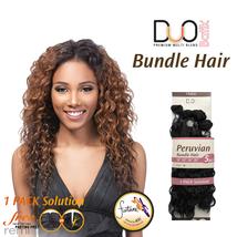 Outre Batik Duo Premium Multi Blend Weave Peruvian Bundle Hair 5Pcs - $24.64