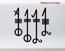 Svefnthorn Vinyl Sticker - Viking Sleep Thorn Symbol Norse Magick  Die C... - $5.93+