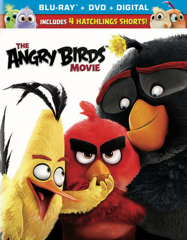 Angry Birds (2016/Blu-Ray/DVD Combo/Ultraviolet)