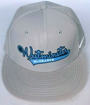 Westminster College Blue Jays Men's Gray Baseball Hat Stretch Fit M/L - $29.49