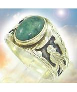 CASSIA4 HAUNTED ANTIQUE RING INSTANT AZTEC BLESSING EXTREME RARE MAGICK ... - $777.77