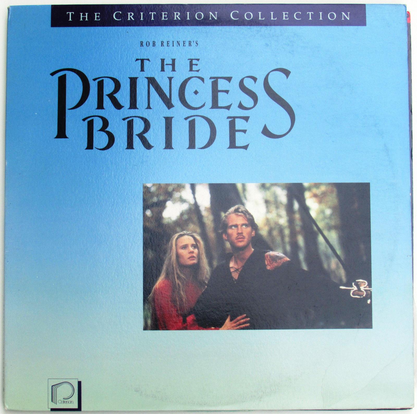 The princess bride laserdisc cary elwes robin wright movie