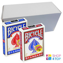 "12 Decks Bicycle Magic Short 1/16"" Playing Cards Red And Blue Usa Sealed Box New - $70.16"