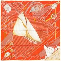 Auth Hermes Scarf TUIGA 90cm Silk Foulard DOMINIK JARLEGANT - $349.95
