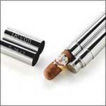 Personalized Stainless Steel Cigar Case/Flask Combo - with Engraving - $39.83