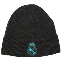 Adidas Real Madrid Beanie Football Soccer Sports Running Real Hat Black ... - $34.99
