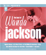 The Best of Wanda Jackson CD - 8 tracks - K-Tel... - $3.79