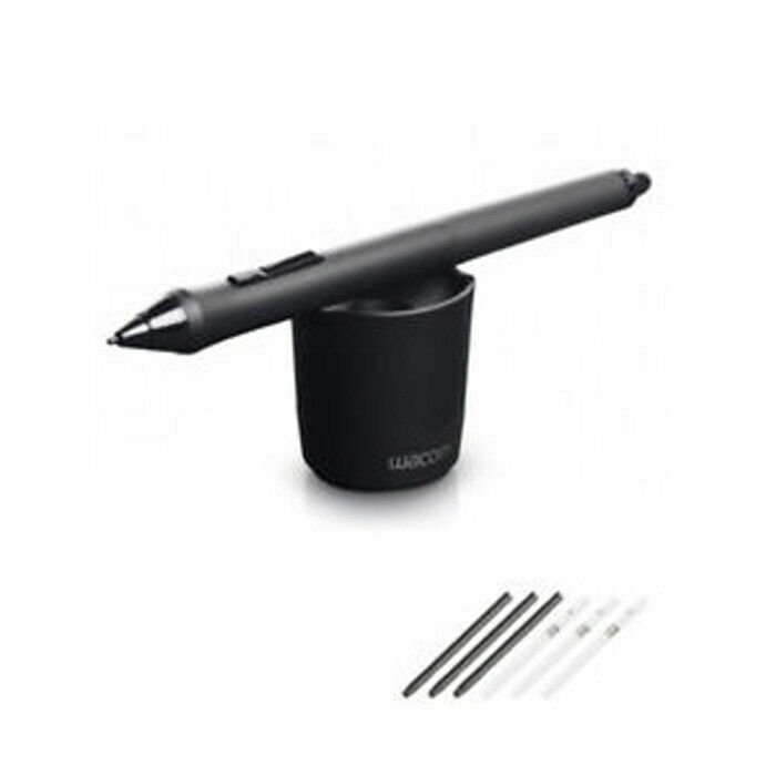 Genuine Wacom KP-501E Grip Pen KP-501E-01 For Intuos 5 4 Pro Cintiq 21ux 24HD