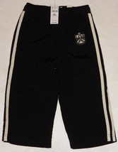 NWT Children's Place Nylon Athletic Pants Lined Size 24 Months Black Boy Girl - $11.83