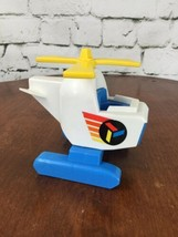 Fisher Price Vintage Little People Helicopter - $11.88