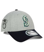 New Era Seattle Mariners Heather Hit 9FORTY Cap Hat - $19.79