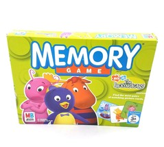 Nick Jr Backyardigans Memory Game Matching Pairs by MB 2005 Preschool Ag... - $14.71