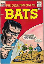 Tales Calculated To Drive You Bats Comic Book #7, Archie 1962 FINE+ - $38.69