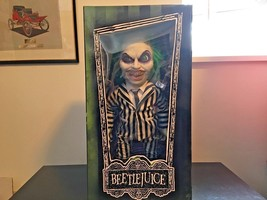 "BEETLEJUICE 15"" MEGA SCALE ACTION FIGURE DOLL MEZCO NEW! - $79.99"
