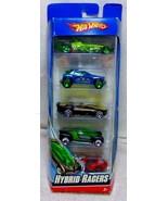 2008 HYBRID RACERS Hot Wheels 5 In Gift Pack Die Cast Metal  Mattel  L99... - $17.99