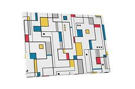 "Pingo World 1218PXW3HOG ""Pop 'Abstract Blocks'"" Gallery Wrapped Canvas A... - $47.47"