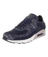 Nike Men's Air Max 90 Ultra 2.0 Flyknit College/Navy/College/Navy Running Shoe