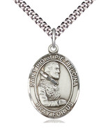 Saint Pio of Pietrelcina - Pewter - Patron of Stress Relief - $41.99