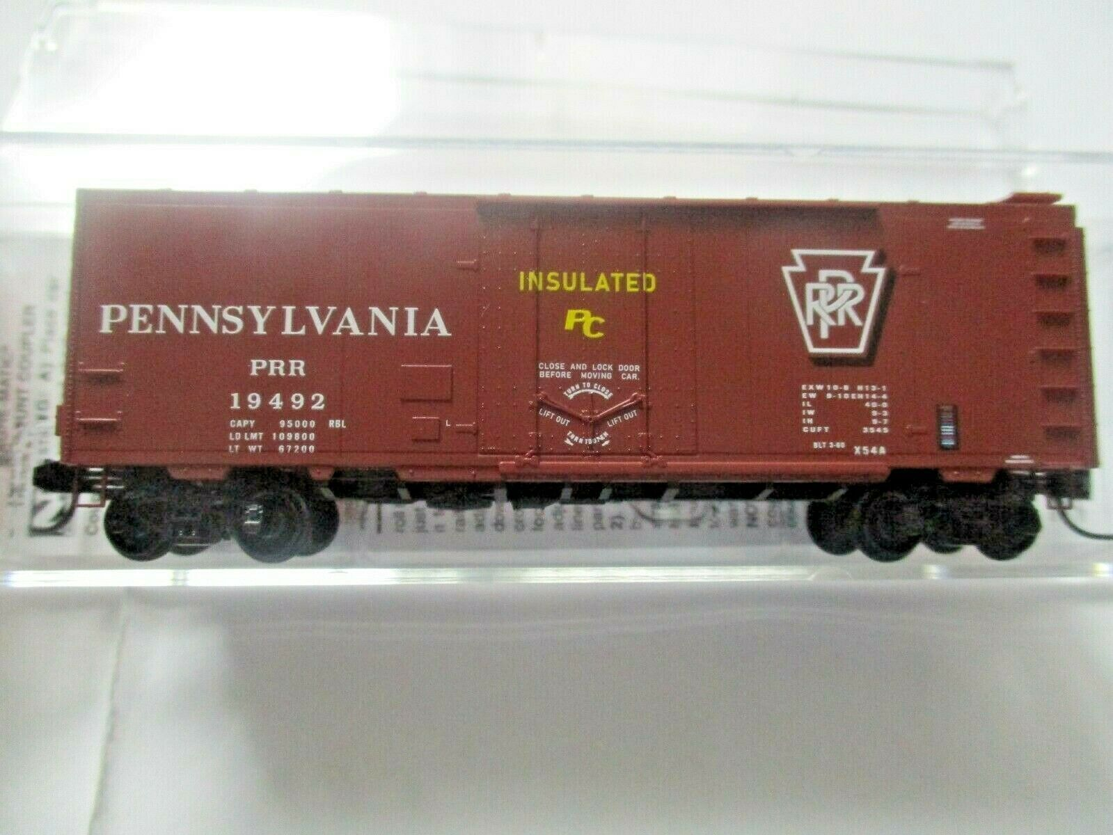Micro-Trains # 02100610 Pennsylvania Railroad 40' Standard Boxcar N-Scale