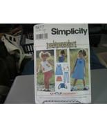 Simplicity 5617 Girl's Dress, Top, Capri Pants, Shorts & Bag Pattern - S... - $6.92