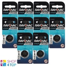 10 Rayovac CR2320 Lithium Battery 3V Cell Coin Button Watch Exp 2025 150mAh New - $11.28