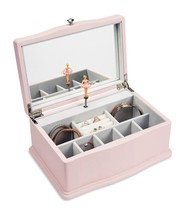 JewelKeeper Girls Wooden Musical Jewelry Box, Classic Design with Baller... - $56.58