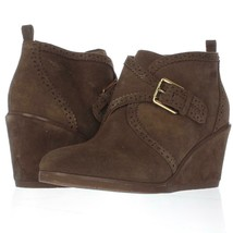 Franco Sarto Arielle Wedge Ankle Booties, Khaki, 10 US / 40 EU Used - $34.55