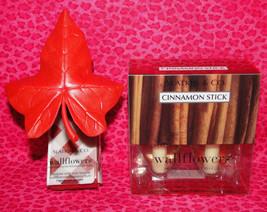 Bath & Body Works Slatkin Wallflower Plug In Diffuser Fall Leaf W/Refills - $26.95