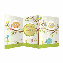 Happi Tree Baby Shower Sweet Baby Owl Decor Party Centerpiece - $6.99