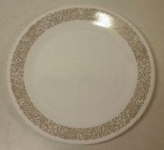 "Corelle Woodlands Dinner  Plate 10.25"" , VG - $4.05"