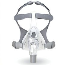 Fisher & Paykel Simplus Full Face CPAP Mask & Headgear SIZE Large - $68.30