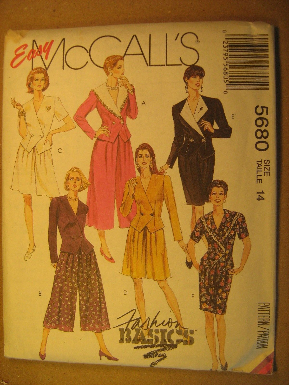 8499 Vintage McCalls Pattern Misses Dress Sewing UNCUT OOP FF