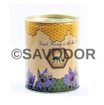 NEW HARVEST Thyme Honey Can 450gr-15.87oz GREEK EXCELLENT QUALITY HONEY - $22.67