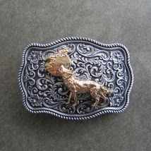 Original Animal West Wild Wildlife Belt Buckle Gurtelschnalle Boucle de ... - $9.99