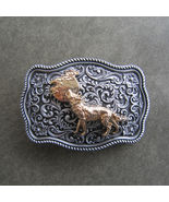 Original Animal West Wild Wildlife Belt Buckle Gurtelschnalle Boucle de ... - $8.99