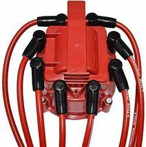 OEM Distributor Red Spark Plug Wire 6cyl GMC CHEVY 4.3L V6 TBI EFI 85-99 Pontiac image 9