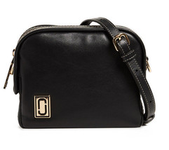 Marc Jacobs The Mini Squeeze Leather Crossbody Bag Pouch ~NWT $295 Black~ - ₹13,328.17 INR