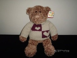 Gund Heads & Tales Bear 16 Inch Knitted Sweater 40997 - $83.60