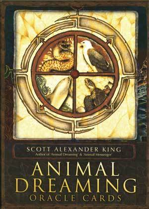 Primary image for Animal Dreaming Oracle Cards Deck by Scott King New