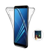 Touch Screen Protective Clear Case For Samsung Galaxy 8 Transparent White  - $15.99
