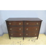 Henredon Acquisitions Collection Rustic Duncan Phyfe Drawer Dresser / Chest - $2,399.00