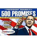 President Obama Cards, 500 Promises Follow the Facts New - $15.89