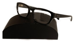 Prada Women's Black Shiny Glasses with case VPR 18O 1AB-1O1 54mm - $185.99