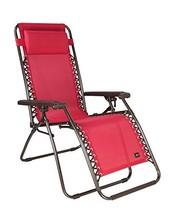 "Bliss Hammocks Zero Gravity Chair, Red, 26"" Wide - $74.12"
