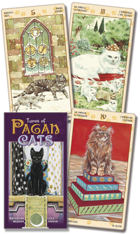 Primary image for Tarot of the Pagan Cats Cards Deck 1st Editon NEW Wiccan Pagan