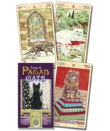 Tarot of the Pagan Cats Cards Deck 1st Editon NEW Wiccan Pagan - $20.89